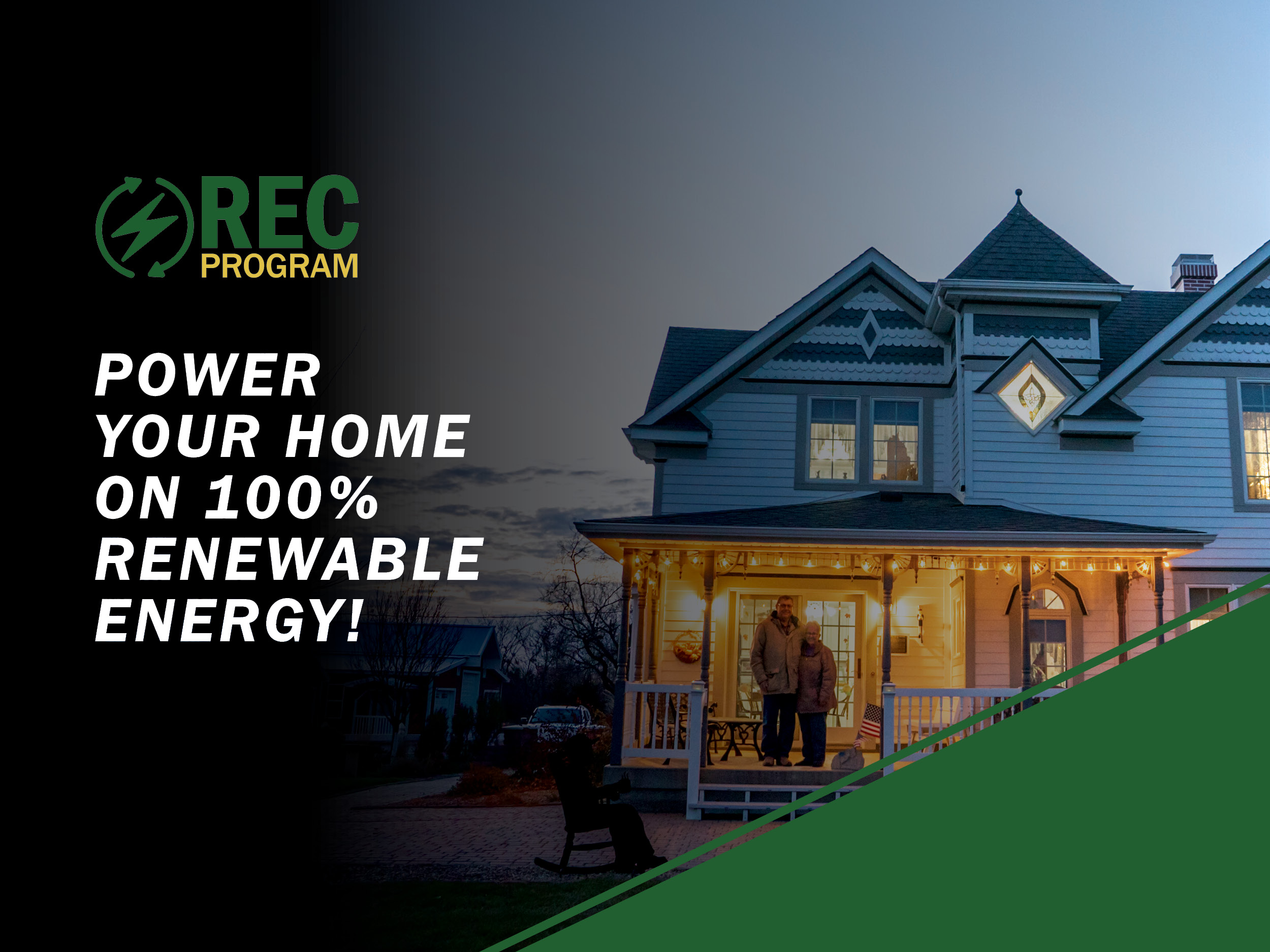 Power your Home on 100% renewable