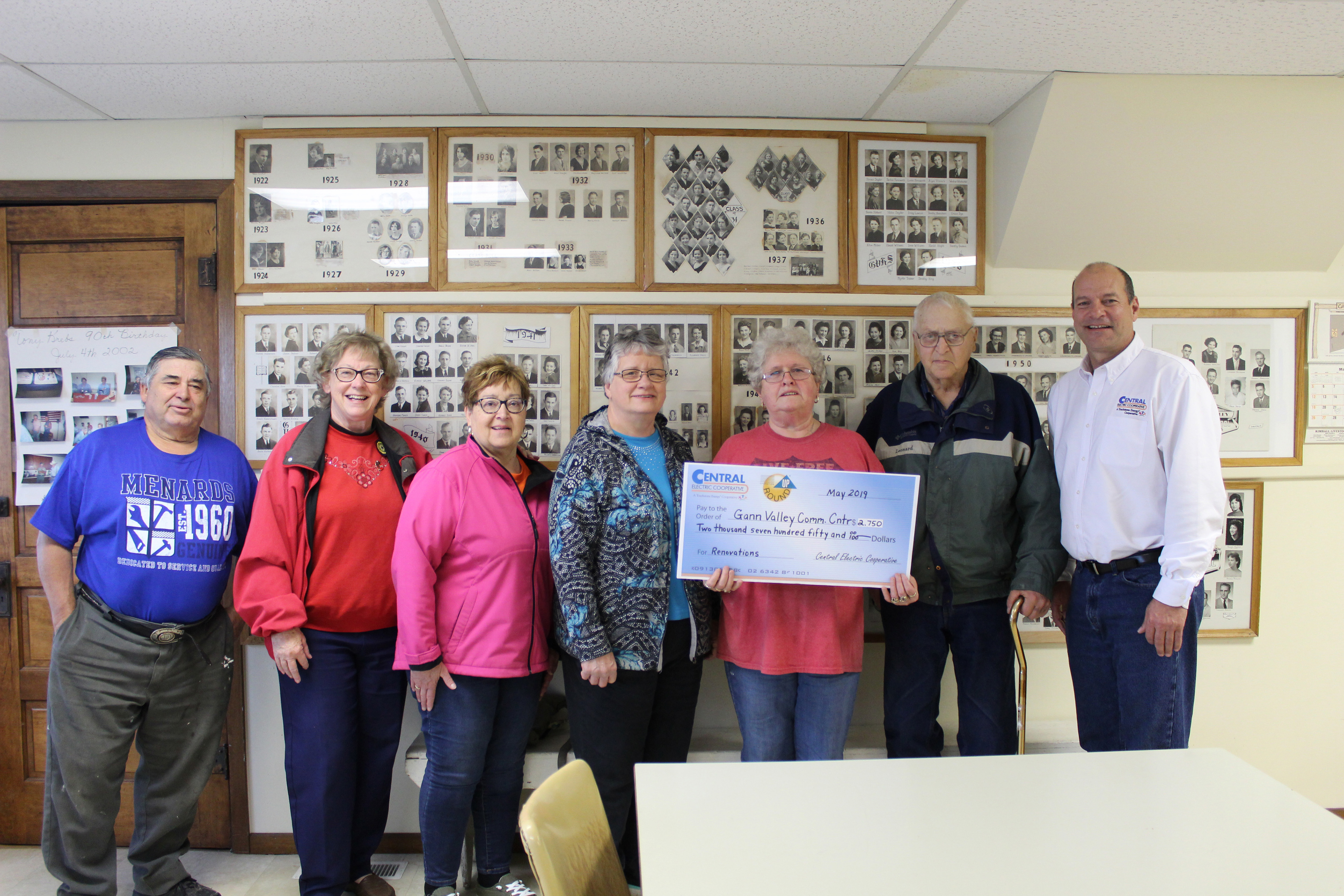 Gann Valley Community Center Receives Funds